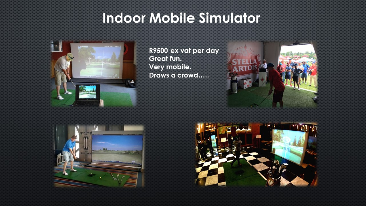 Simulator slide